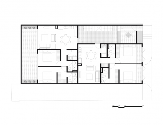 Bosques Flats Is A Tiny, Tiny Apartment Project