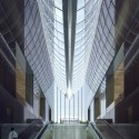 """MAD Breaks Ground on Proposal that Redefines Beijing's """"City Landscape"""" Entrance Lobby. Image © MAD"""