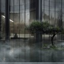 """MAD Breaks Ground on Proposal that Redefines Beijing's """"City Landscape"""" View of Garden. Image © MAD"""