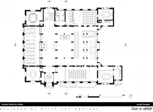 Architecture Photography: Erasmus University College in