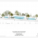 Monte-Carlo Pavillions / Affine Design Elevation