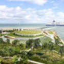 Arte Charpentier Architectes Unveils Plans for Calais Congress Centre The centre will feature panoramic coastal views. Image © Arte Charpentier Architectes