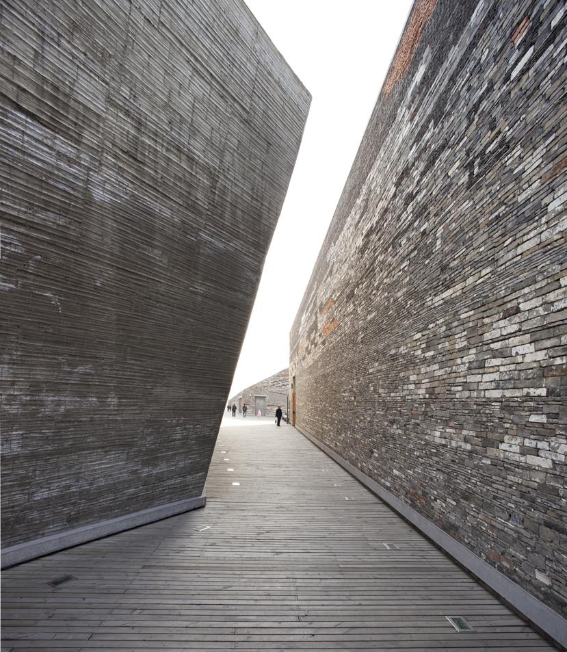 La obra de Wang Shu en Fotografías por Clemente Guillaume