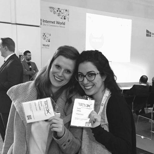 Farina Schurzfeld & Noor Edres, ready for TactixX 2015!