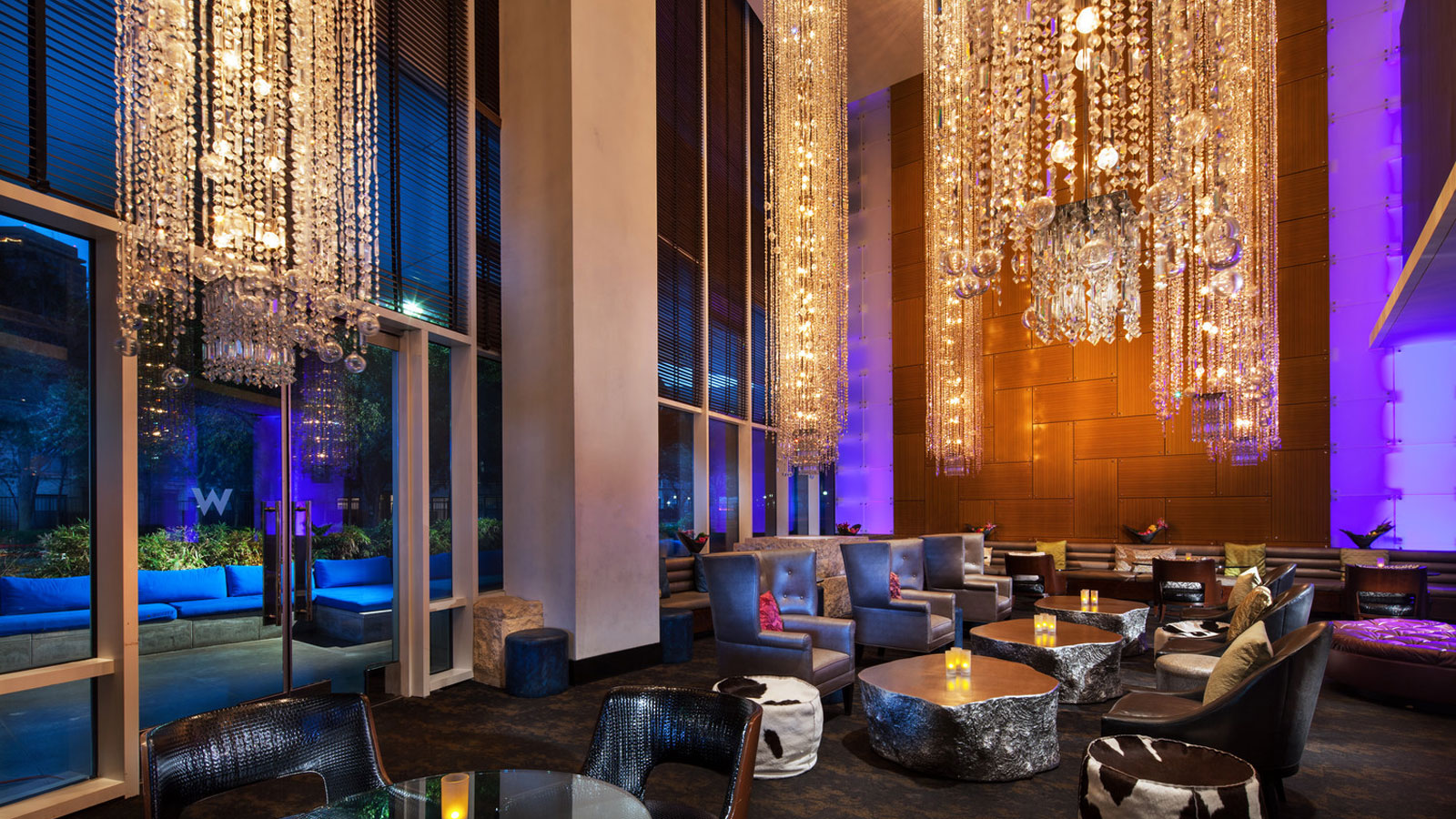 Dallas Restaurants  W Dallas Victory Hotel