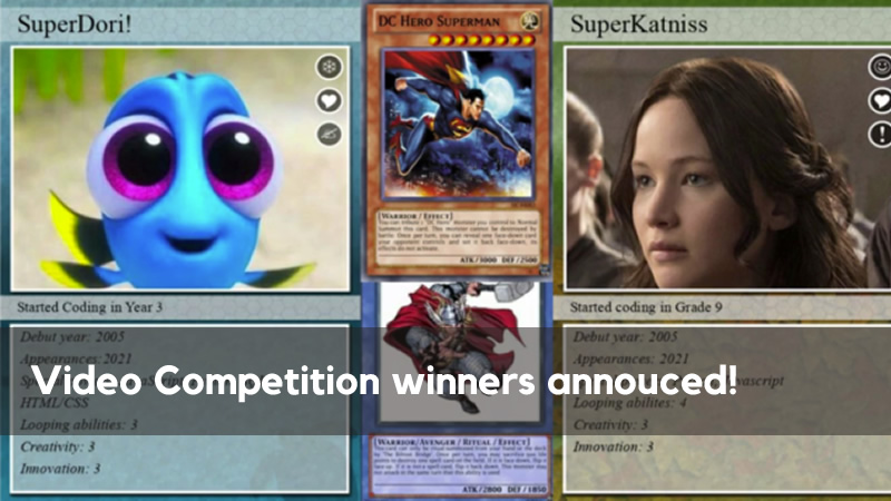 Video competition winners announced!