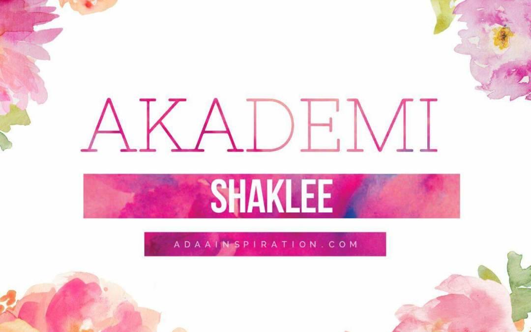 Akademi Shaklee 2018 [Belajar Sampai Master]