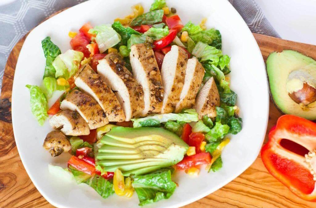 Salad Ayam [Resepi Pesakit Gerd]