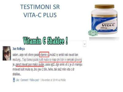 Testimonial Vitamin C Shaklee (11)
