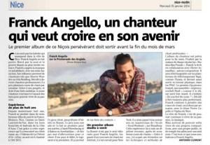 Franck dans Nice-Matin (15/01/2014)