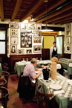 Das Al Pompiere ist eine gemütliche Institution und auf Veroneser Gerichte spezialisiert.