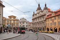 Die Kleinseite Prags.