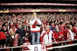 Reine Glaubenssache: Benfica-Fans bangen um den Einzug ins Viertelfinale
