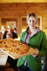 Teigware: Die Skihütte Balmalp oberhalb von Zug ist bekannt für ihre Pizza.