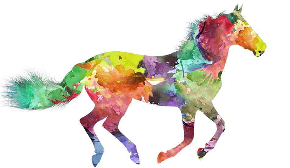 passions cheval peinture