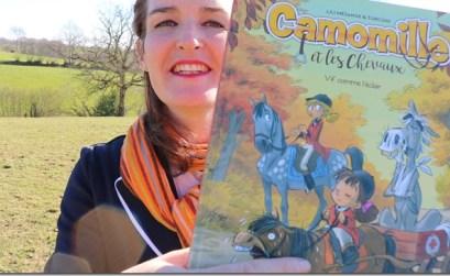 camomille et les chevaux livre