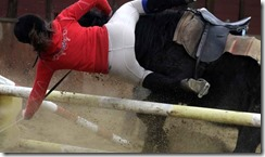 chute cheval equitation