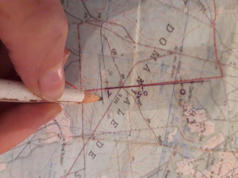 tracer un trait sur votre carte tous les uns kilomètres pour évaluer la vitesse de votre cheval sur la distance parcourue