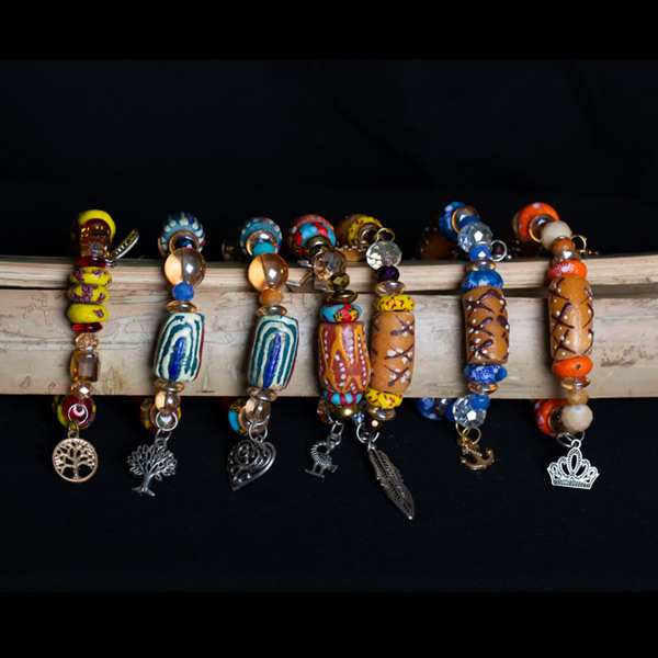 Colorful Charm Bracelets