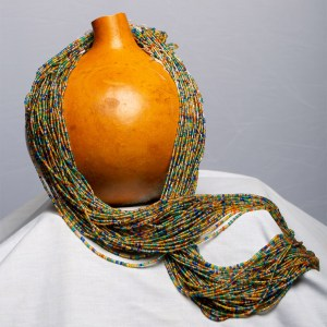 Matte Green Orange, Blue