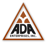 ADA Enterprise Logo with Orange Border