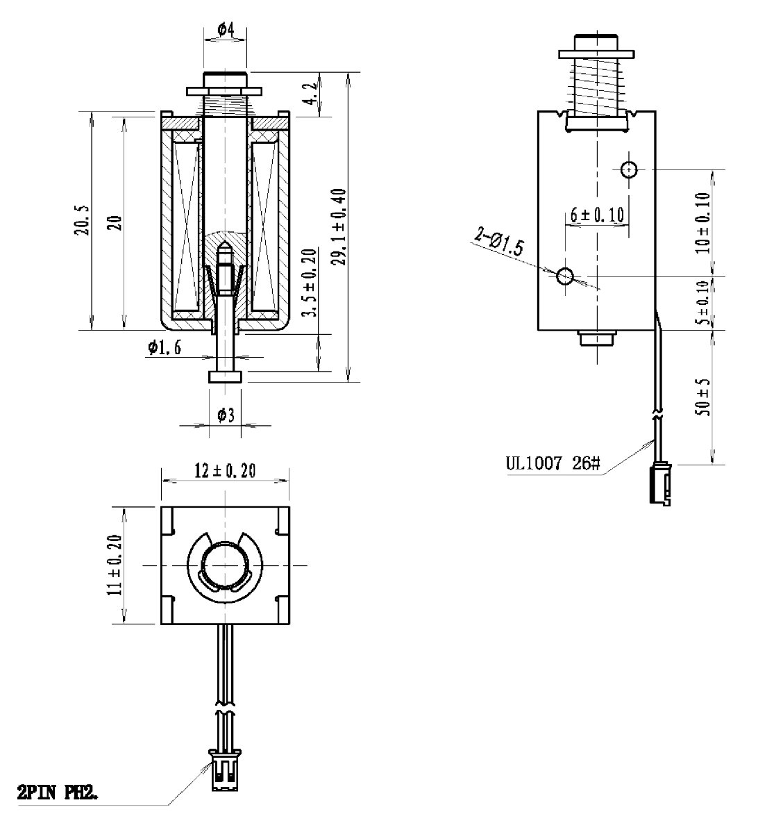 Mini Push Pull Solenoid