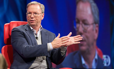 Eric Schmidt at the D9 Conference.
