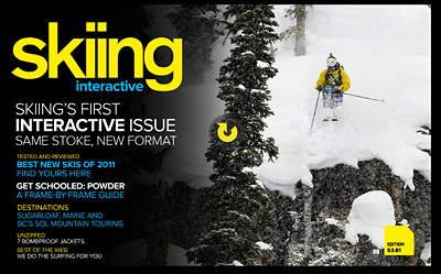 The debut of Skiing Interactive.
