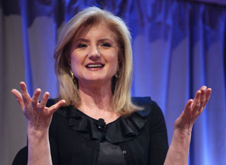 Arianna Huffington at the Ad Age Digital Conference