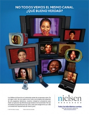 Nielsen found minorities are hardest to recruit for measurement panels.