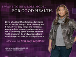 As a Jenny Craig spokeswoman, Queen Latifah preaches health, not thinness.