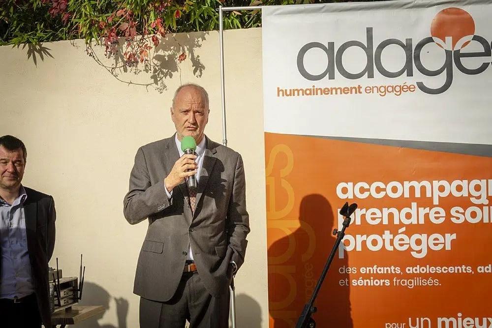 Monsieur Frédéric Hoibian, Directeur général de l'Adages