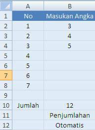 Cara Membuat Perkalian Otomatis Di Excel : membuat, perkalian, otomatis, excel, Membuat, Perhitungan, Otomatis, Excel, Indra