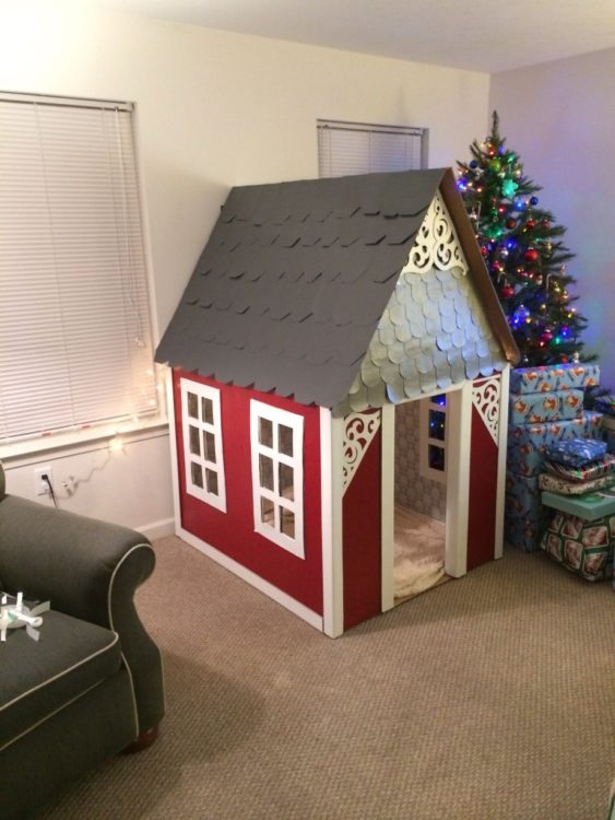 Miniatur Dari Karton : miniatur, karton, Membuat, Rumah, Kardus, Mudah, Murah