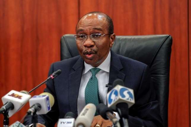 CBN pensioners task Emefiele on palliative, seek upward review