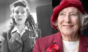 British sweetheart: Dame vera dies.