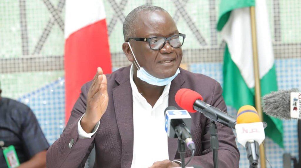 Governor Ortom Laments