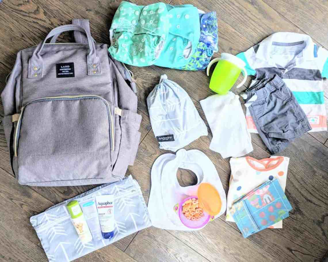 How to Pack the Essentials in Your Diaper Bag | A Daily ...