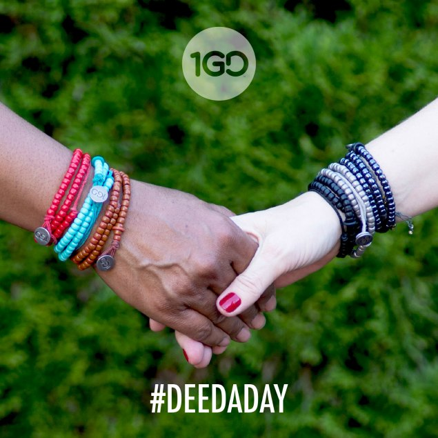 Commit to Doing One Good Deed per day. #deedaday #1GD