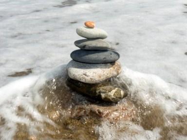 Stones for Meditation -- Zen