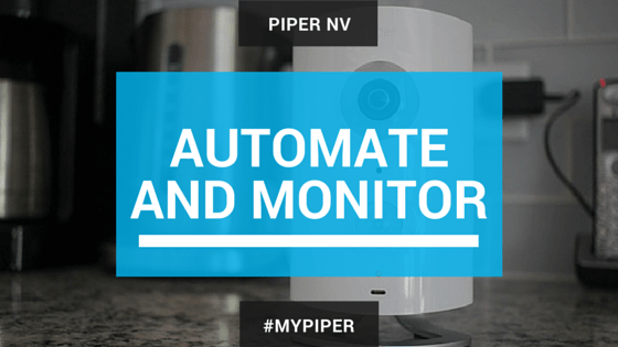 Automate and Monitor your home with the Piper nv system