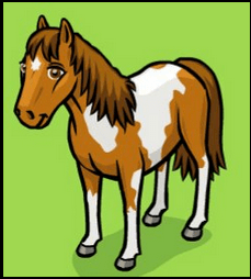 Milly Horse from Horse Haven Ubisoft Game on Facebook
