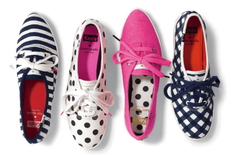 Kate Spade Keds -- Perfect for Spring and Summer fun!