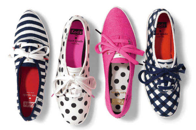 Kate Spade and Keds – Whimsical Utilitarianism