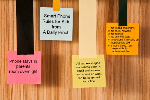 Smart Phone Rules for Kids