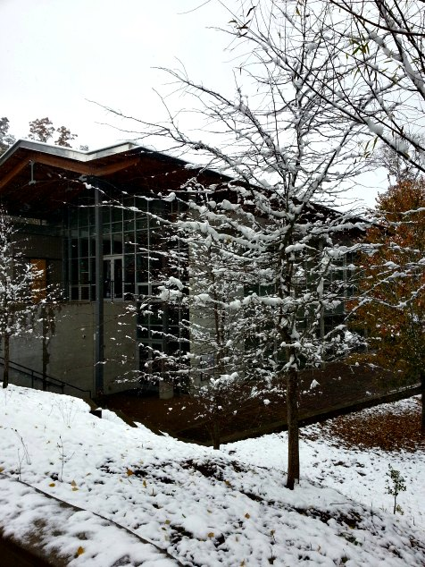 Asheville, NC. Blueridge Parkway Visitors Center. November 2014