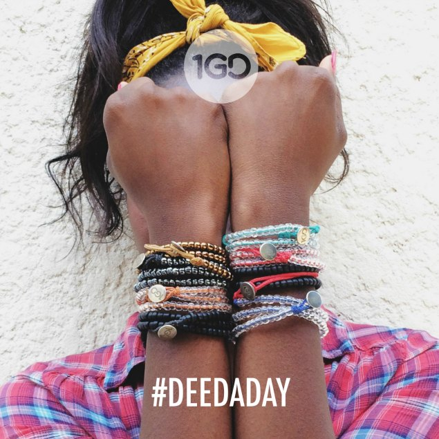 Commit to doing a #deedaday with the One Good Deed challenge. #1GD