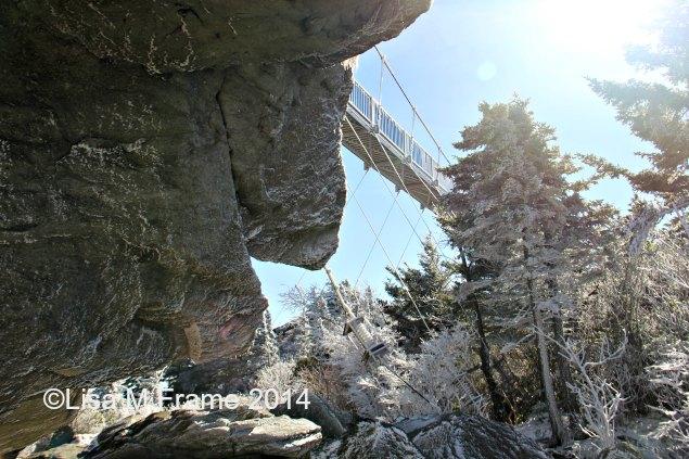 Mile High Swinging Bridge, Grandfather Mtn,, NC