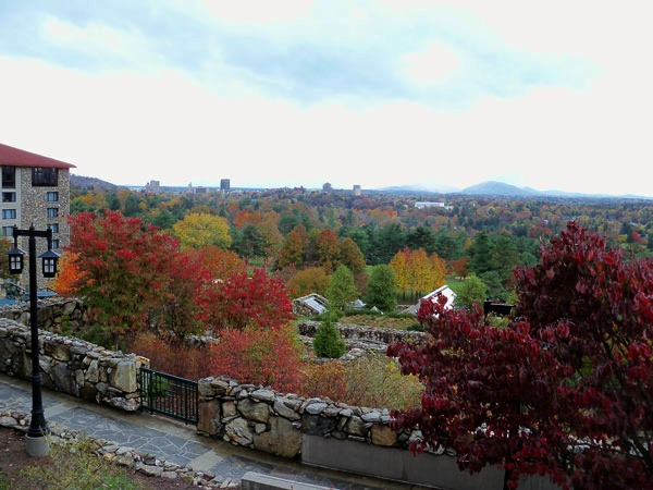 Grove Park Inn Asheville Fall