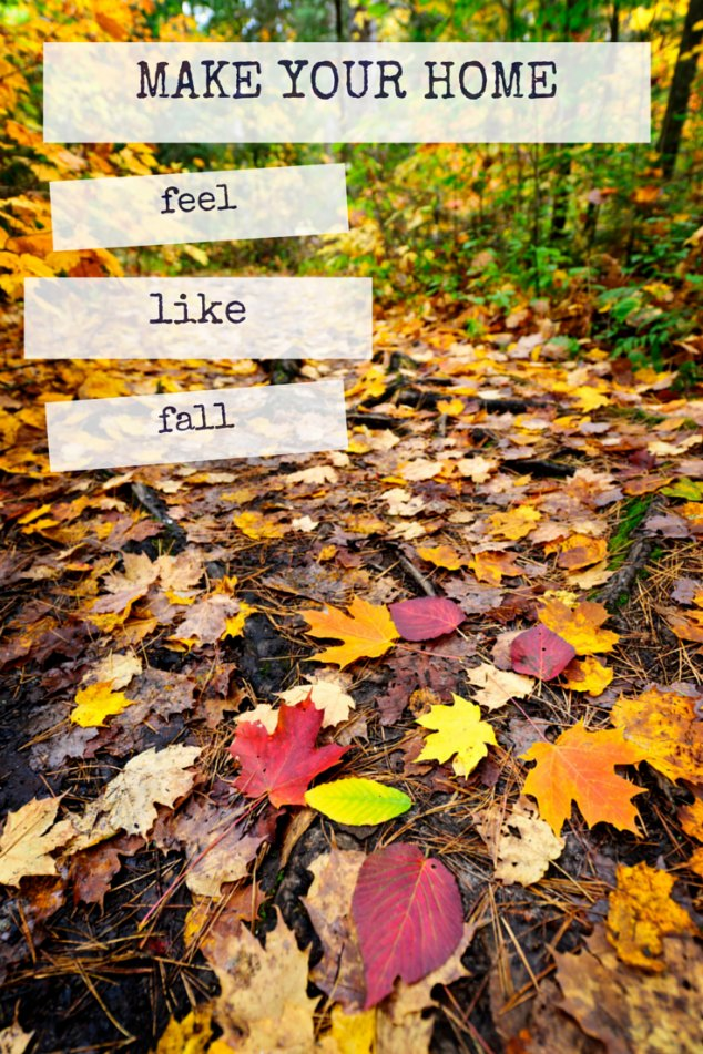 Make your home feel like fall with these quick tips!